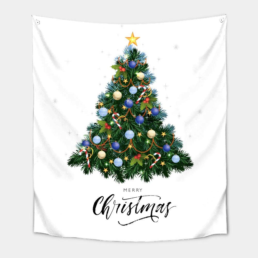 가리개 바란스 커튼 130x150cm 블링블링 크리스마스