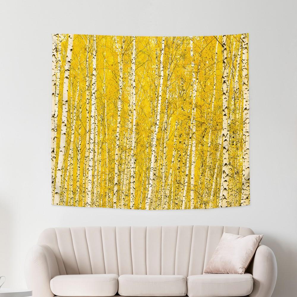 [패브릭포스터] 황금자작나무숲 150x130cm