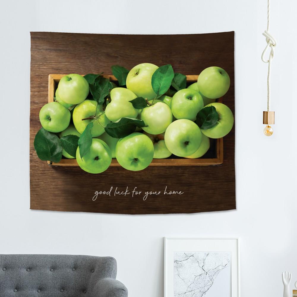 [패브릭포스터] 행운가득초록사과박스 150x130cm