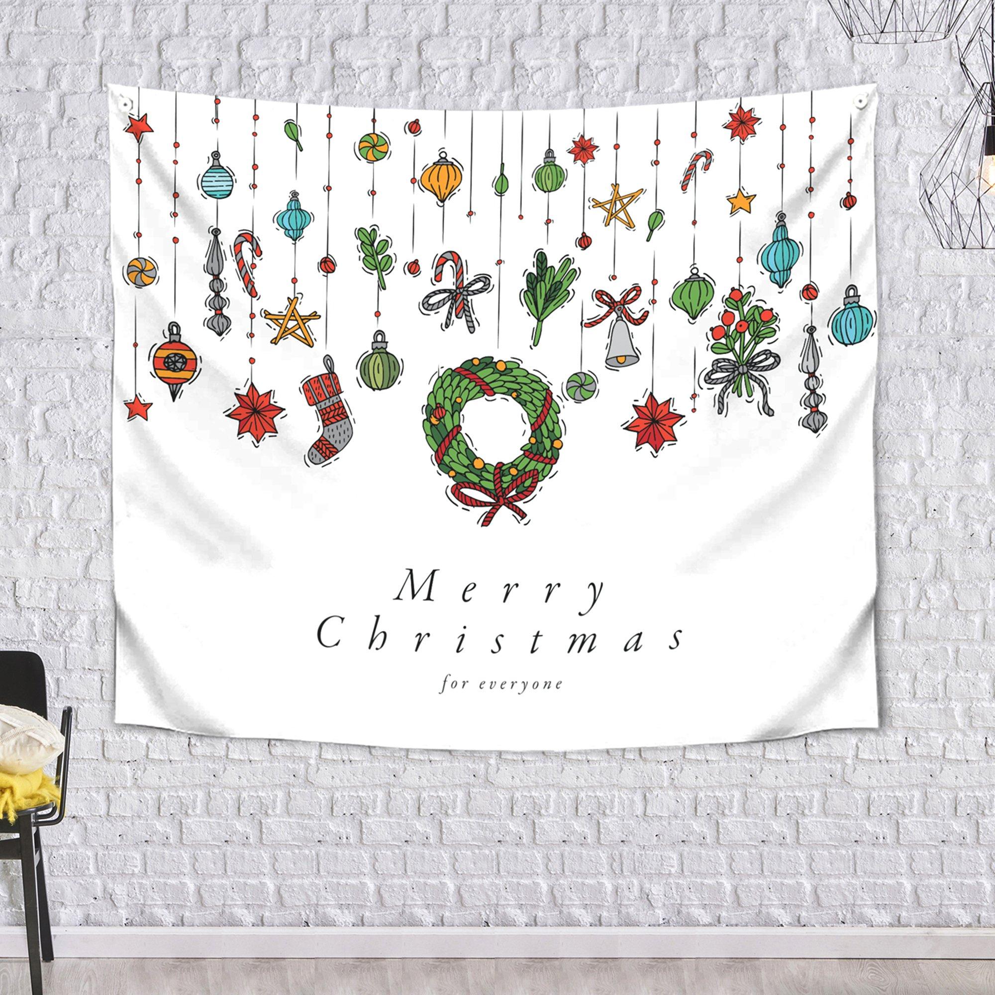 [패브릭포스터]메리크리스마스 150x130cm