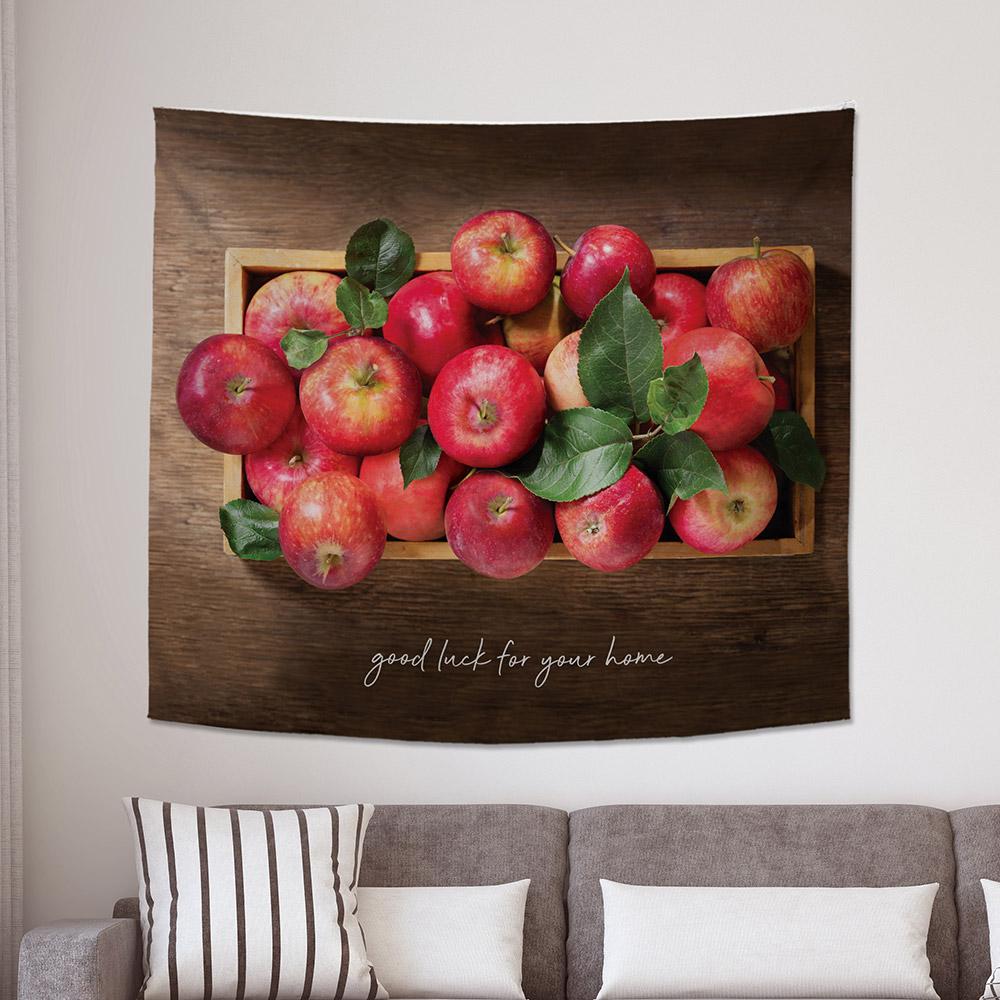 [패브릭포스터] 행운가득빨간사과박스 150x130cm