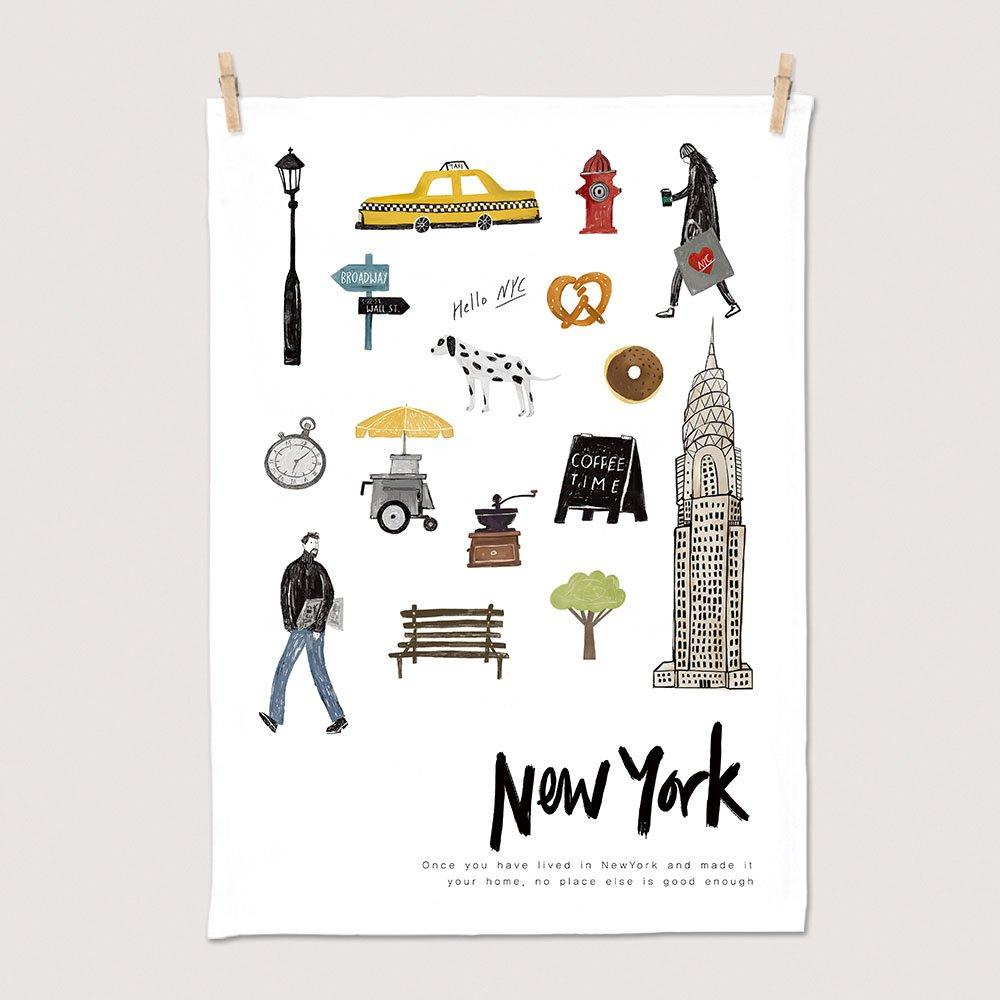 [패브릭포스터] 인더시티 뉴욕 50x70cm