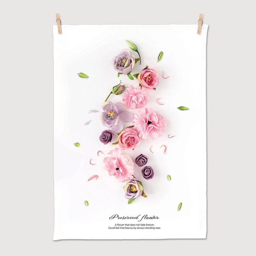 [패브릭포스터] 핑크프리져브드 50x70cm