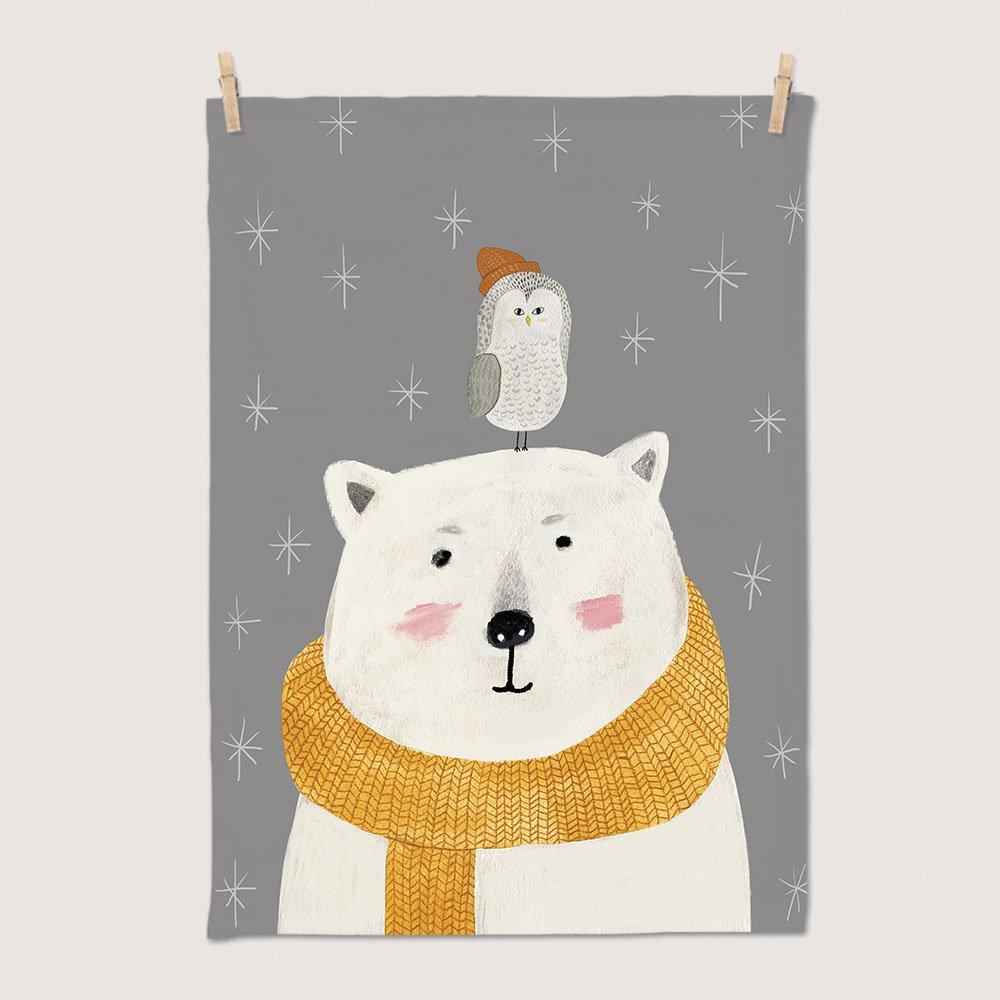 [패브릭포스터] 겨울친구들 50x70cm