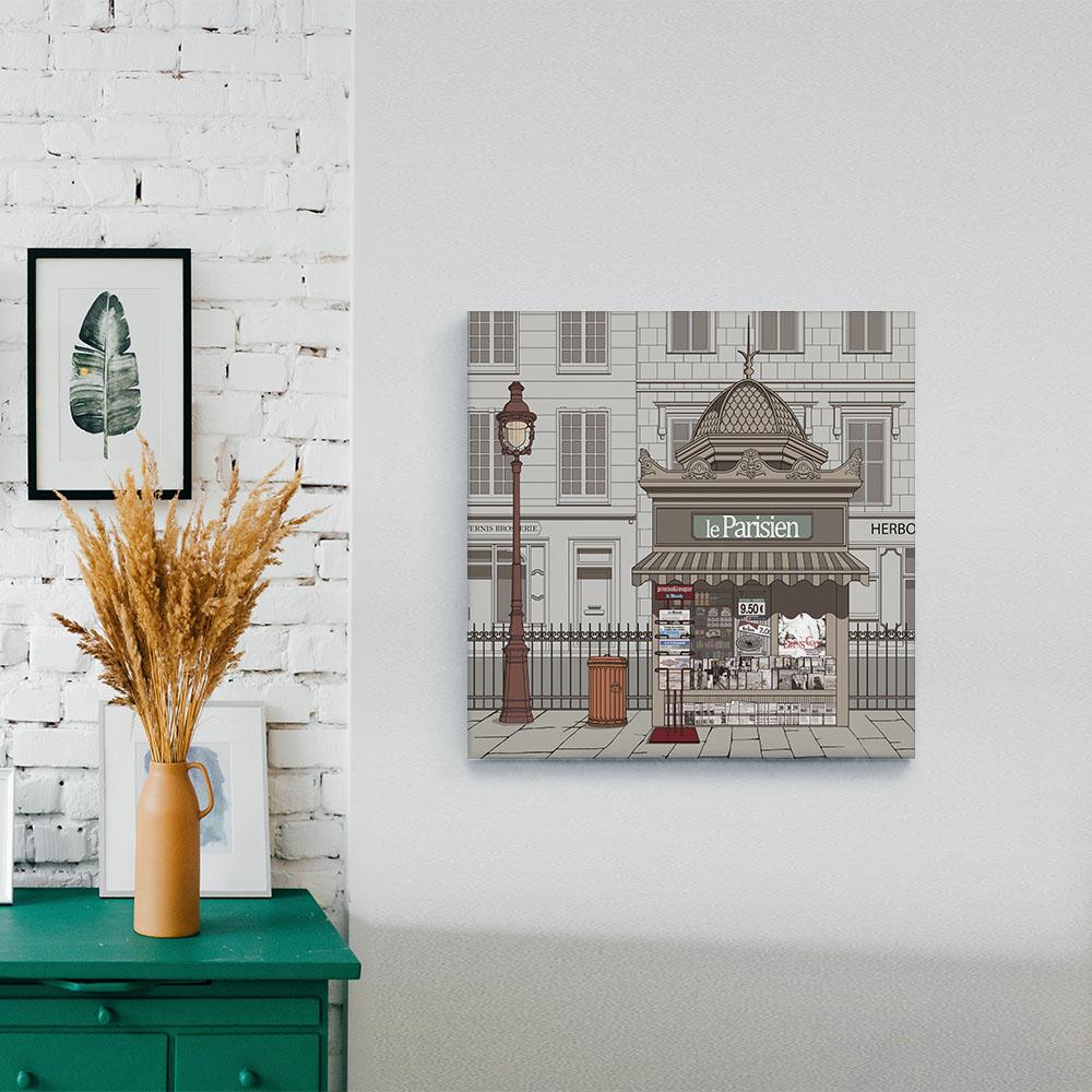 [캔버스액자] 파리지앵 30x30cm