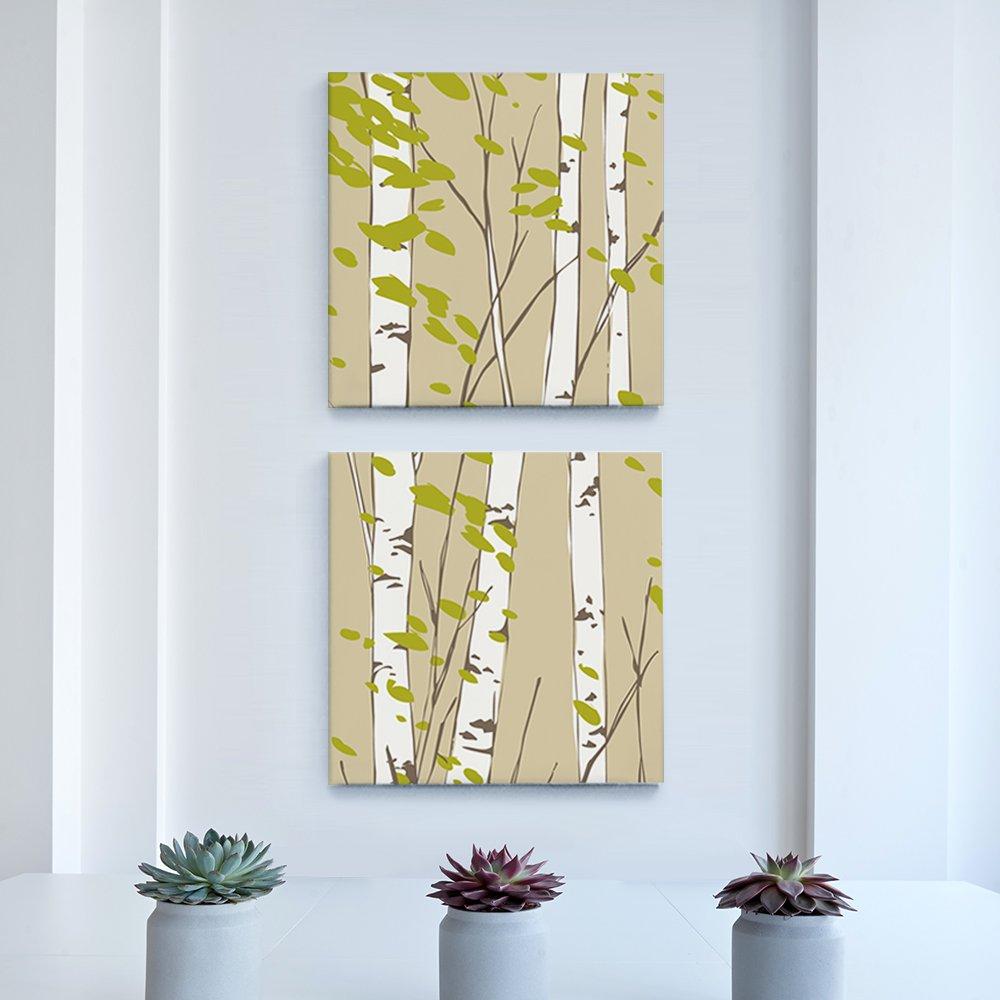 [캔버스액자] 자작나무에서 30x30cm