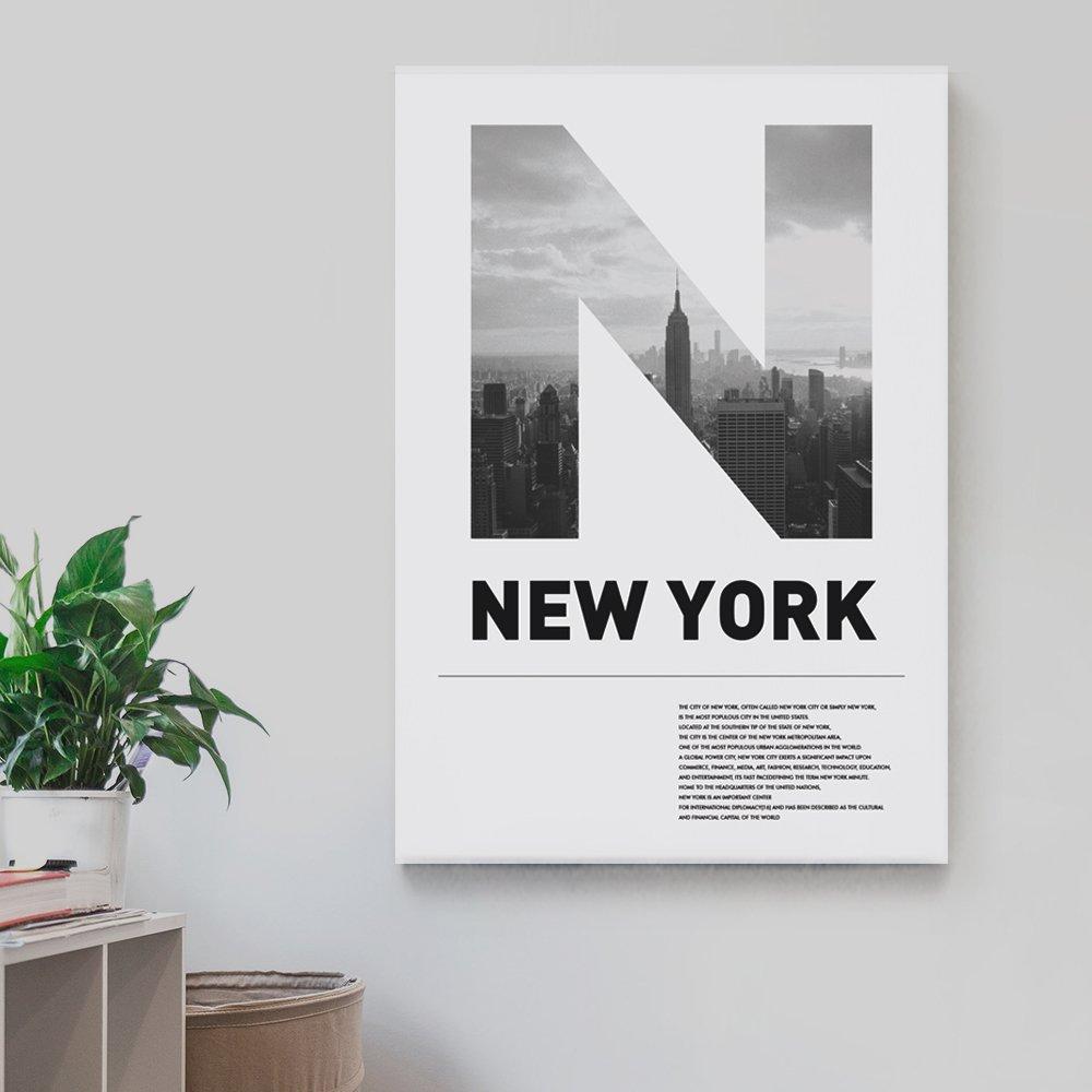 [캔버스액자] 뉴욕시티 50x70cm