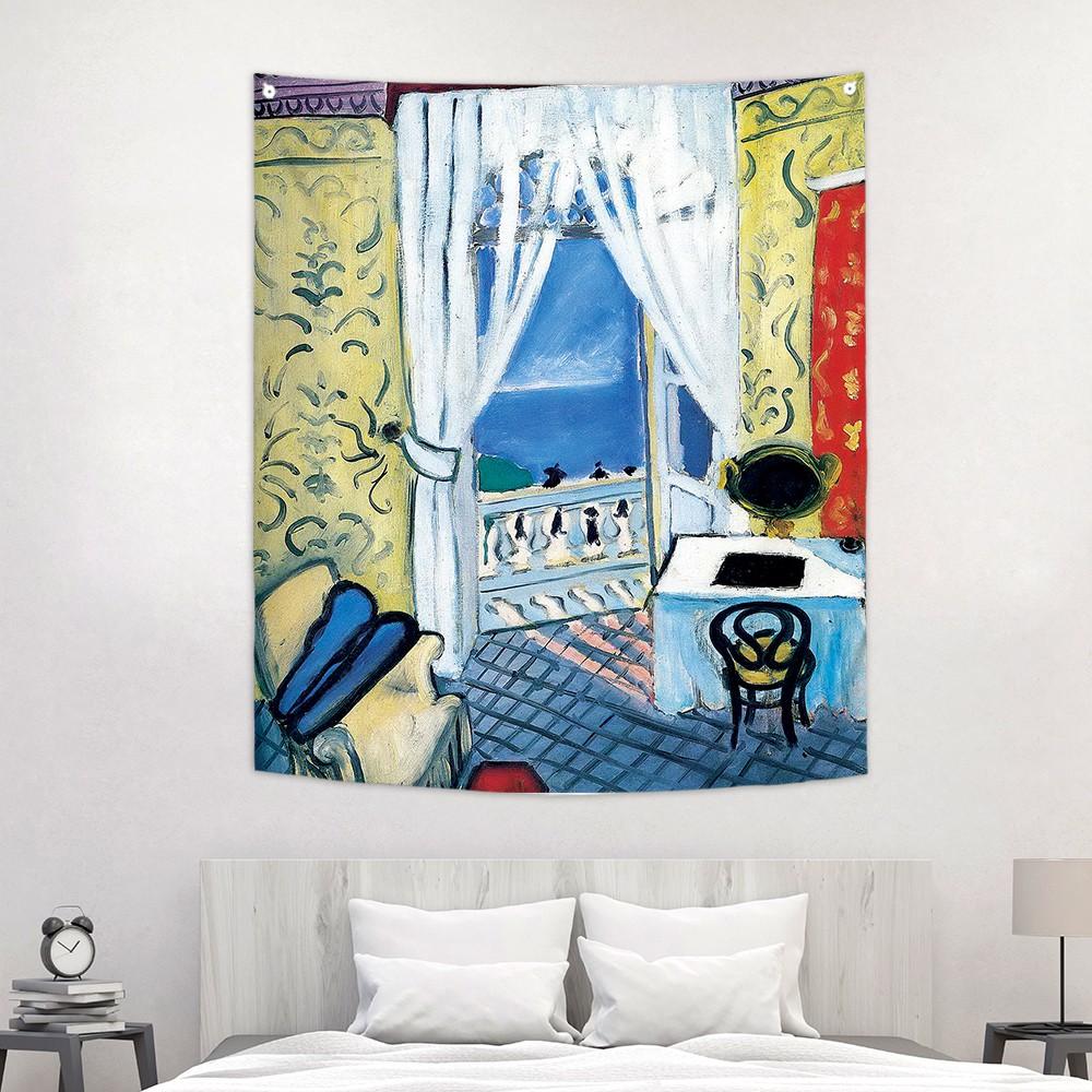 [패브릭포스터]마티스 바이올린케이스가 있는 인테리어 150x130cm