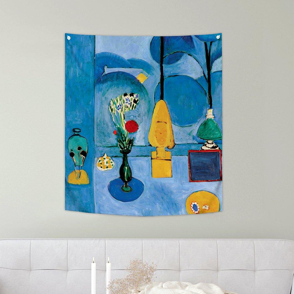 [패브릭포스터]마티스 푸른창문 150x130cm