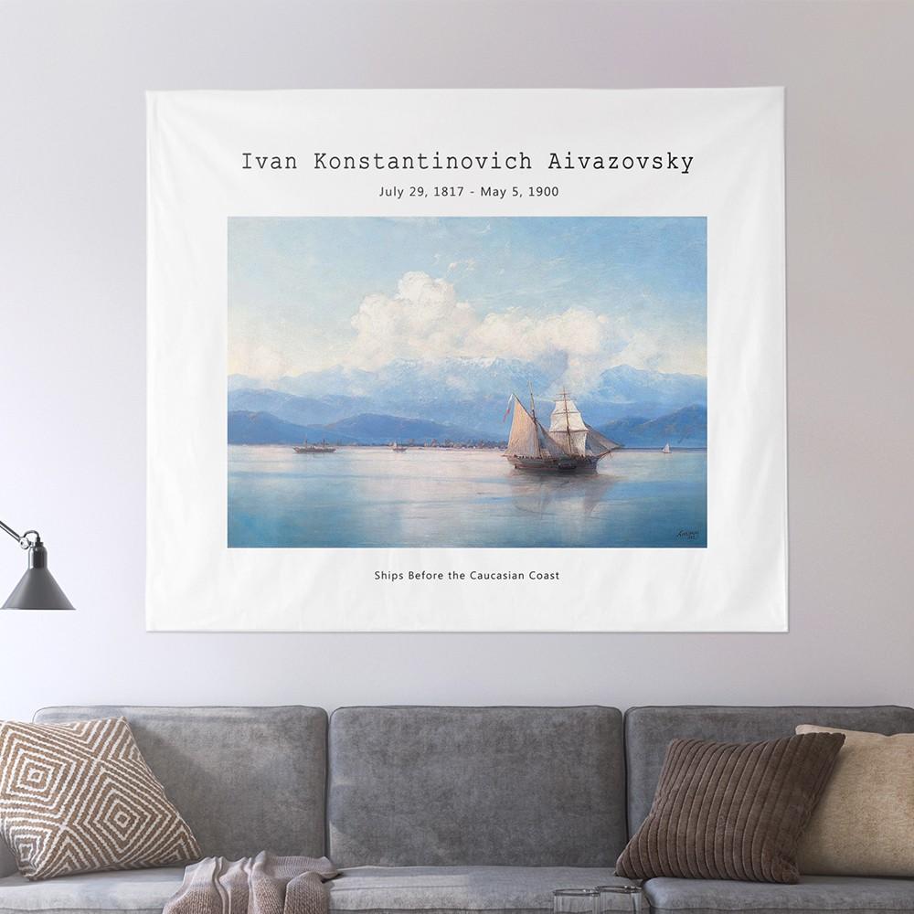[패브릭포스터]아이바조프스키 캅카스해안 150x130cm
