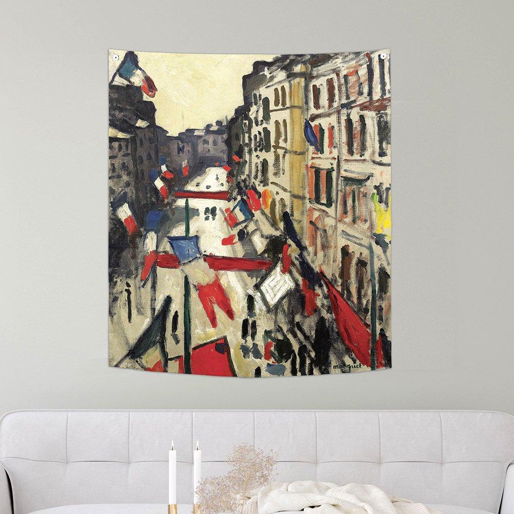 [패브릭포스터]알베르 마르케 르아브르에서 150x130cm