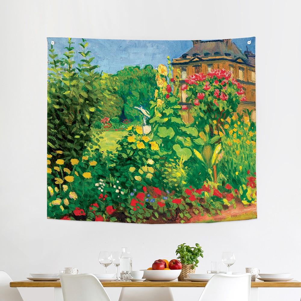 [패브릭포스터]알베르 마르케 룩셈부르크 정원 150x130cm