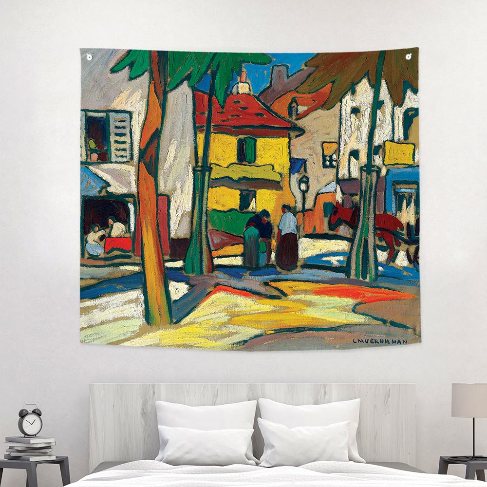 [패브릭포스터]마티유 베르딜란 광장 150x130cm