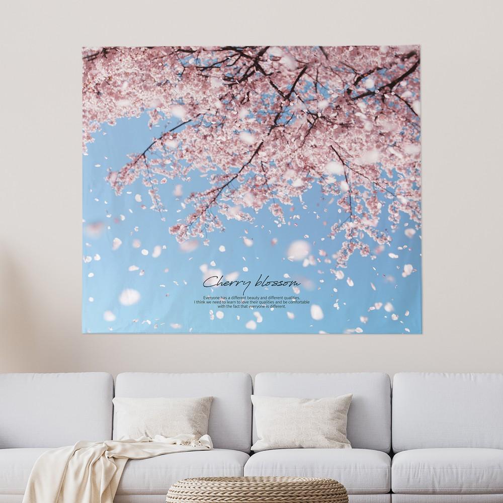 [패브릭포스터] 벚꽃무드 150x130cm