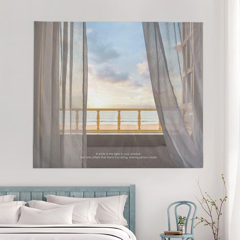 [패브릭포스터] 레이리아해변 150x130cm