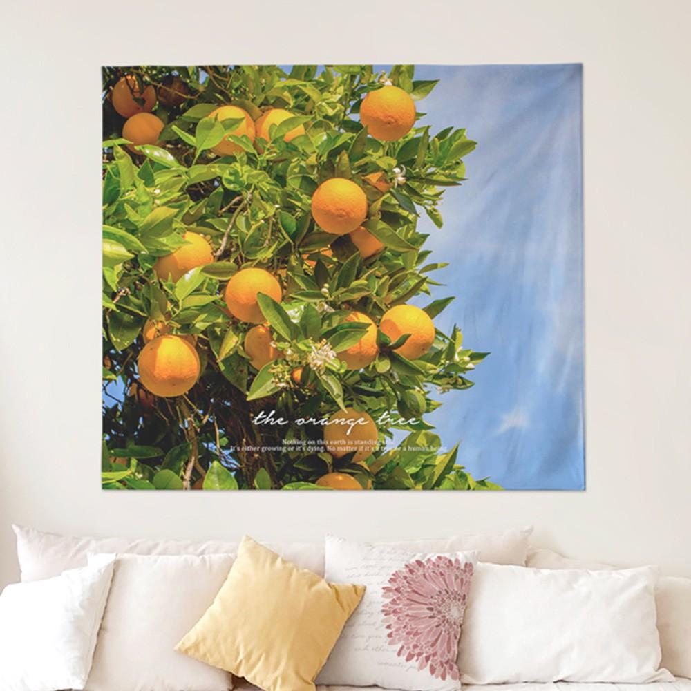 [패브릭포스터] 오렌지트리 150x130cm
