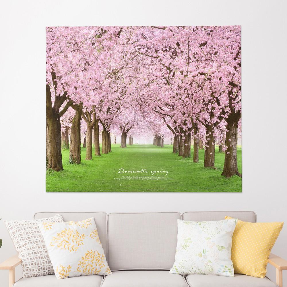 [패브릭포스터] 로맨틱스프링 150x130cm