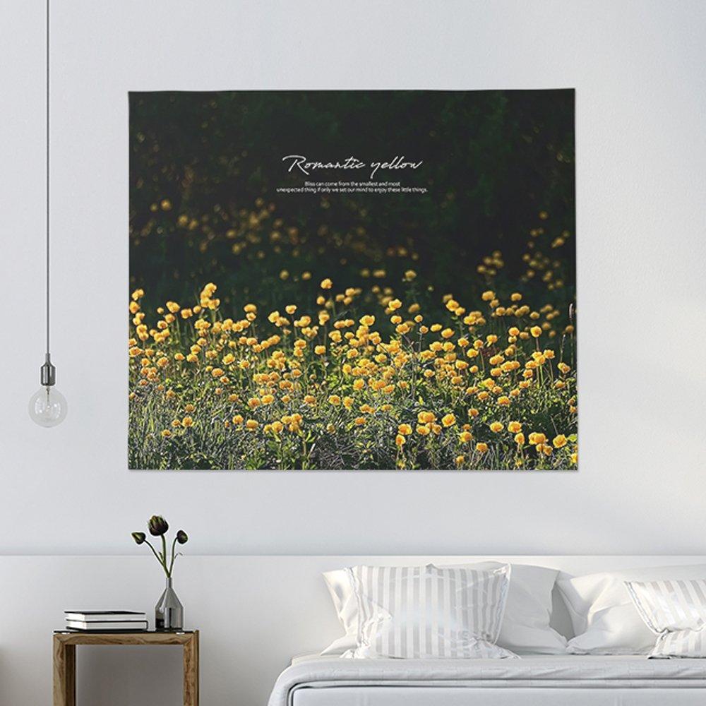 [패브릭포스터] 로맨틱옐로우 150x130cm
