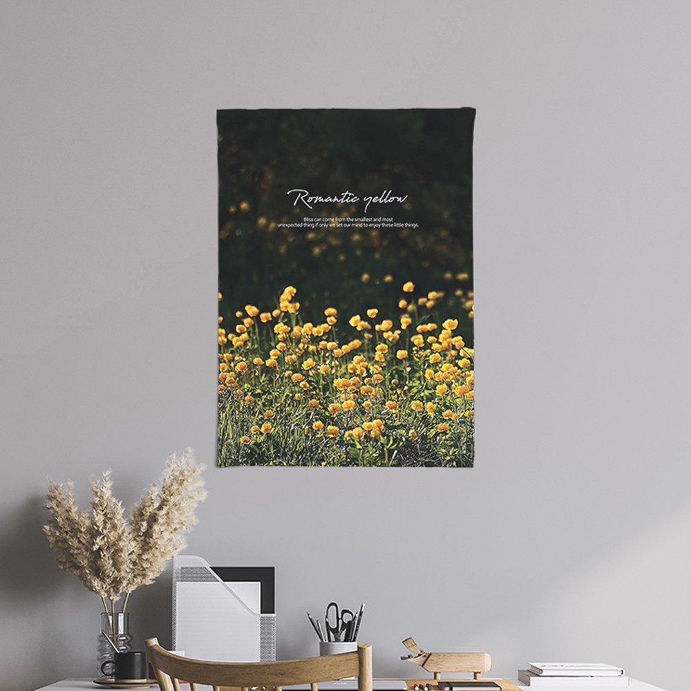 [패브릭포스터]로맨틱옐로우 50x70cm
