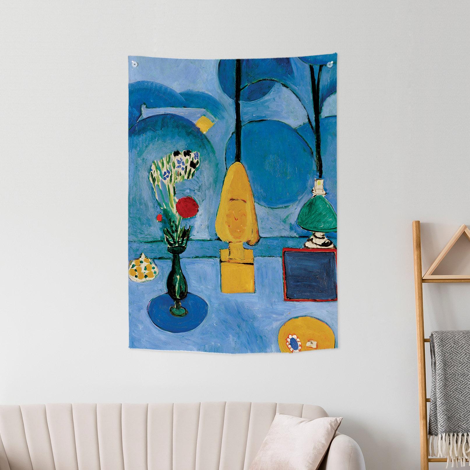 [패브릭포스터]마티스 푸른창문 85x120cm