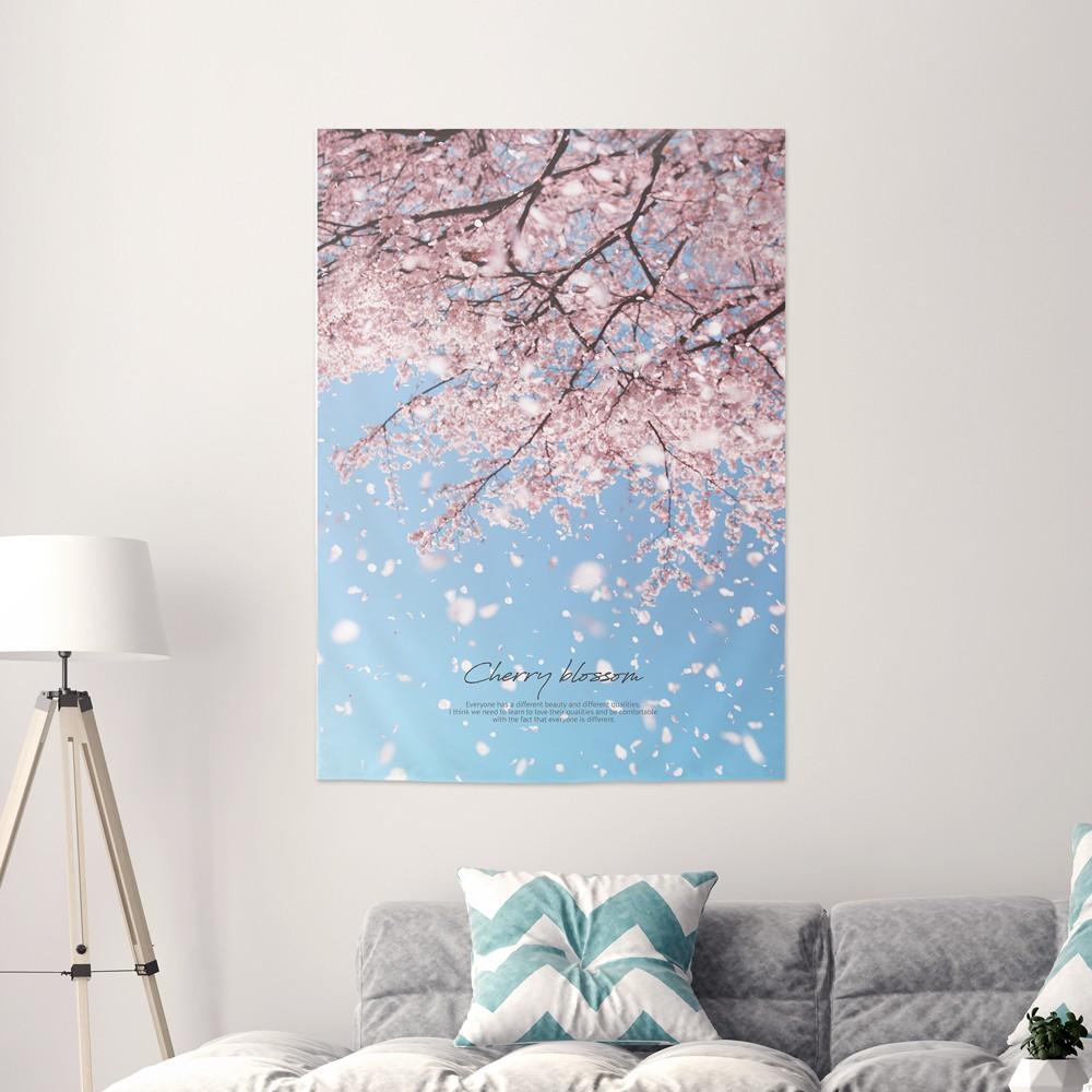 [패브릭포스터] 벚꽃무드 85x120cm