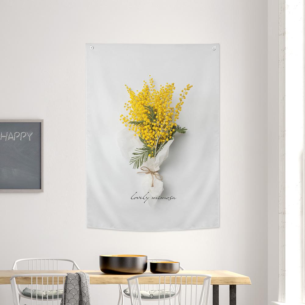[패브릭포스터] 러블리미모사 85x120cm