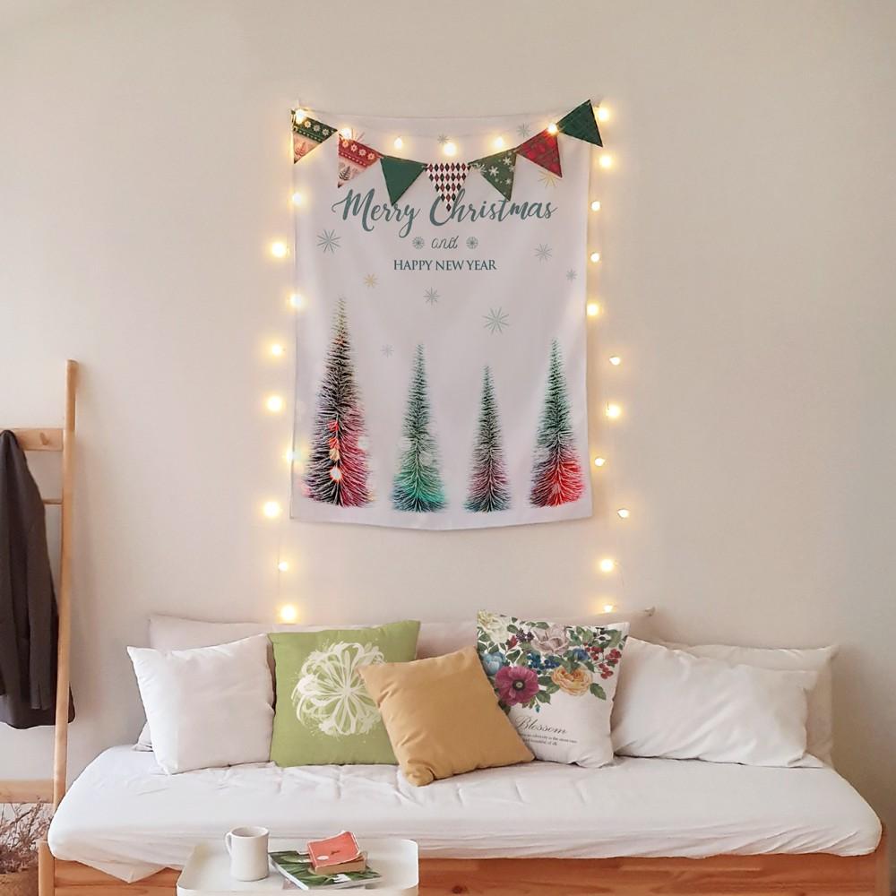 [패브릭포스터] 레인보우크리스마스 85x120cm