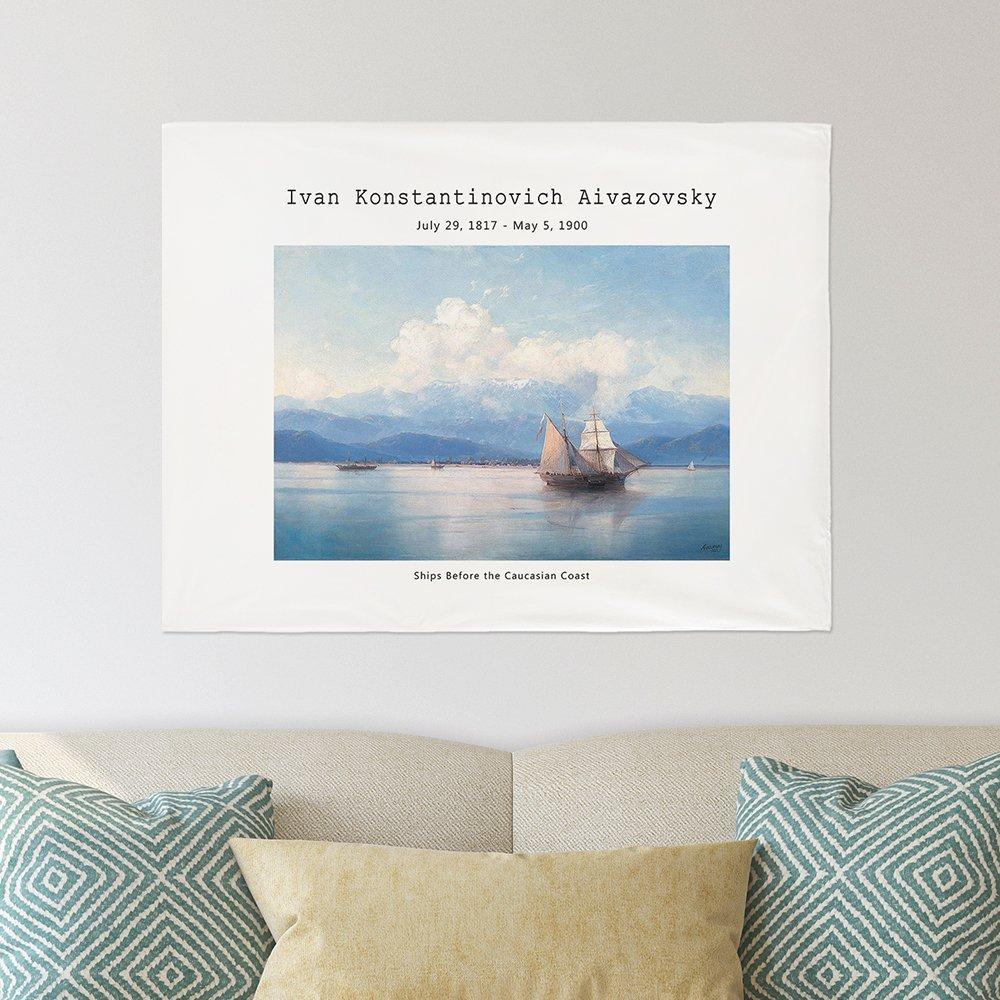[패브릭포스터]아이바조프스키 캅카스해안 90x73cm