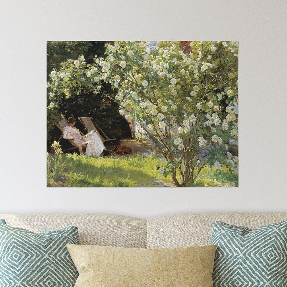 [패브릭포스터]크뢰위에르 장미정원 90x73cm