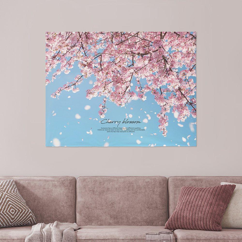 [패브릭포스터] 벚꽃무드 90x73cm
