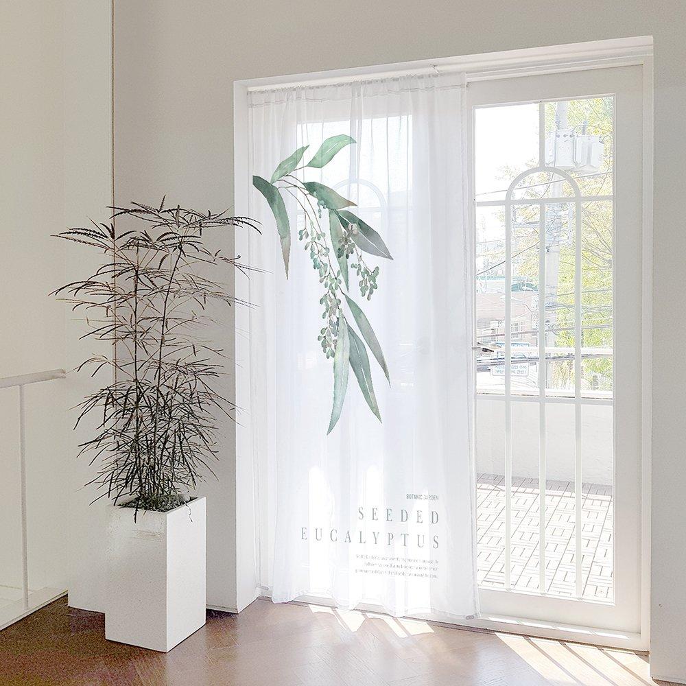 [커튼/도어커튼] 유칼립투스 140x200cm