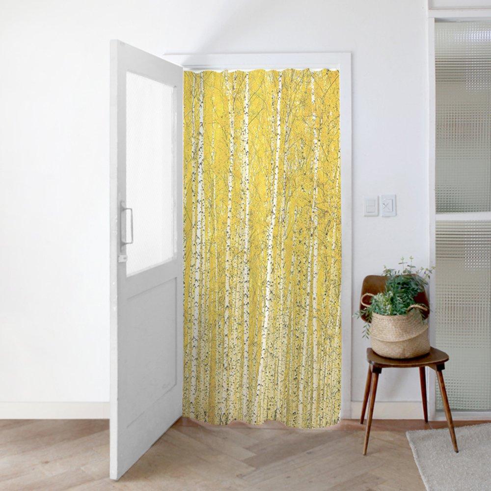 [커튼/도어커튼] 황금자작나무숲 140x200cm